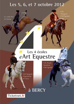 LES 4 ÉCOLES D'ART ÉQUESTRE
