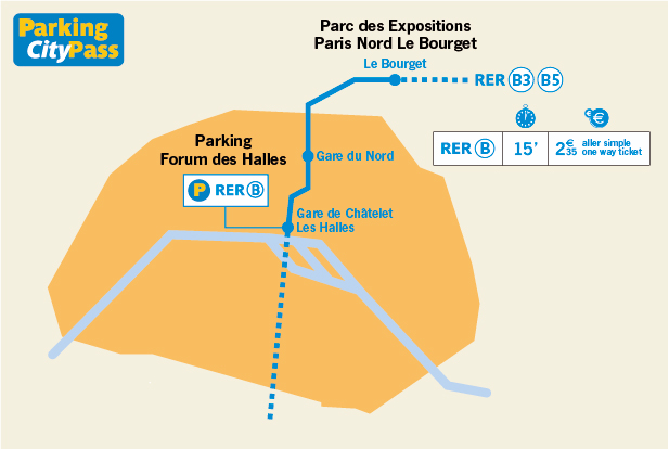 Parkings pour le salon des v hicules de loisirs au bourget - Tarif parking salon de l agriculture ...
