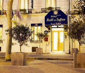 Parking Hotel Bailli de Suffren