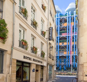Parking Hotel Beaubourg