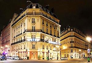 Parking Hôtel Normandy