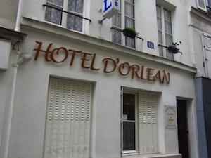 Parking Hôtel Orléans