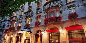 Parking Hôtel Plaza Athénée Paris
