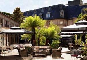 Parking Hôtel Renaissance Le Parc Trocadéro