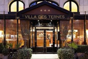 Parking Hôtel Villa des Ternes