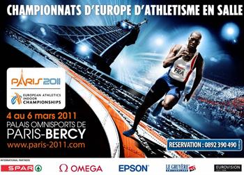 CHAMPIONNATS D'EUROPE ATHLÉTISME BERCY 4-6/03