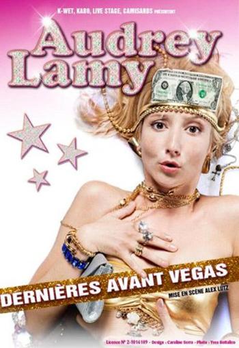 AUDREY LAMY À L'OLYMPIA