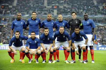 FOOT : FRANCE-GÉORGIE <br>AU STADE DE FRANCE