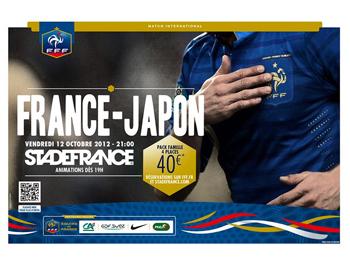FOOT : FRANCE-JAPON