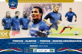 FOOTBALL: FRANCE-ALBANIE AU SDF