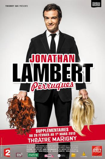 JONATHAN LAMBERT AU THÉÂTRE MARIGNY
