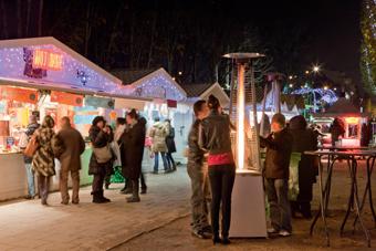 booking parking christmas market champs lys es