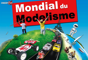 Stationnement mondial du mod lisme paris expo parc des for Parking parc expo porte de versailles