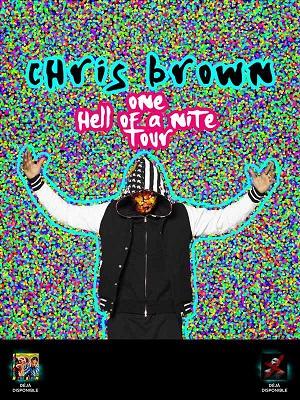 CHRIS BROWN À BERCY