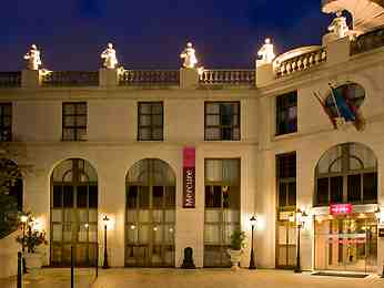 Parking Hotel Mercure Paris Gobelins