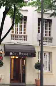 Parking Hotel Verlaine