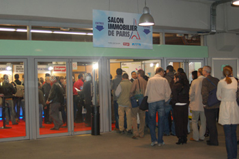 Parkings pour le salon de l 39 immobilier de paris l 39 espace for Espace champerret salon
