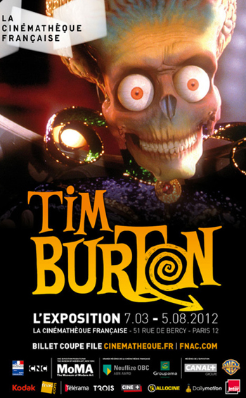 TIM BURTON CINÉMATHÈQUE