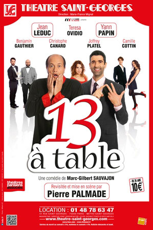 13 À TABLE AU THÉÂTRE SAINT-GEORGES