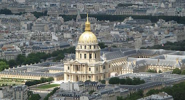 Reserve your parking space now to visit the hotel des Invalides in Parkingsdeparis