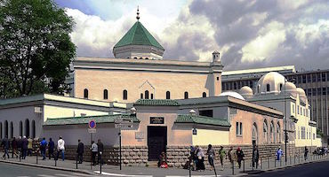 Book your parking space to visit the Great Mosque of Paris in Parkingsdeparis