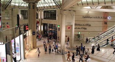 Réservez votre place dans le parking officiel du Forum des Halles pour une séance de shopping réussie ! in Parkingsdeparis