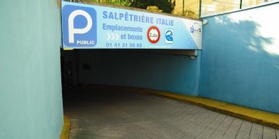 Salpêtrière-Italie - Gare d'Austerlitz