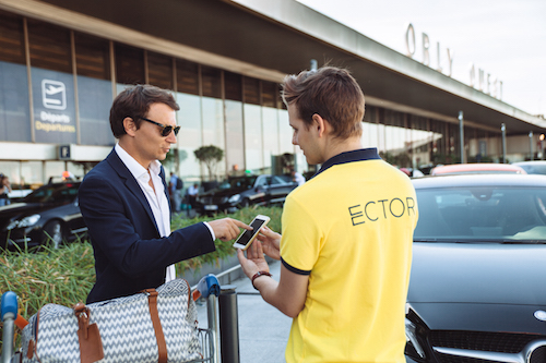 Orly ECTOR - Service Voiturier - Extérieur
